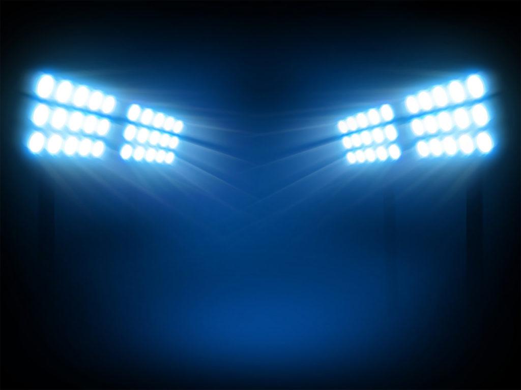 Stadium lights,